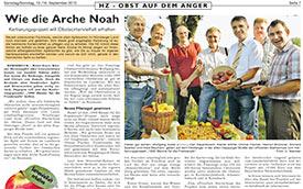 2012, September: Hersbrucker Zeitung