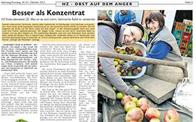 2012, Oktober: Hersbrucker Zeitung