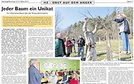 2013, März: Hersbrucker Zeitung