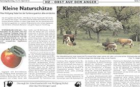 2013, April: Hersbrucker Zeitung