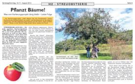 2013, August: Hersbrucker Zeitung
